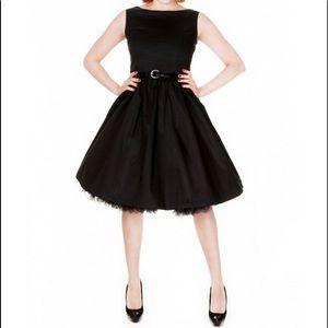 Lindy Bop Black Audrey Sleeveless Dress Size L